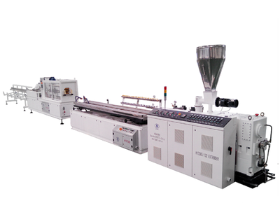 WPC floor profile extrusion line
