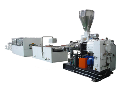 cable wire profile extrusion line