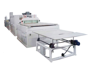 600mm panel extrusion line