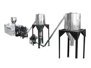 Conical twins pelleting