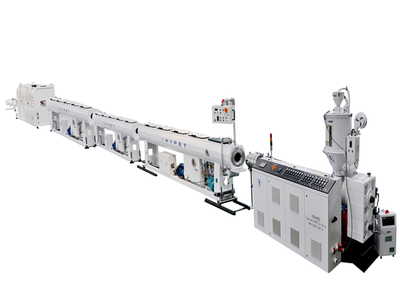 HDPE pipe high extrusion line